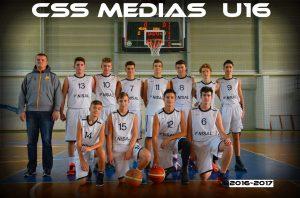 Foto CSȘ Mediaș Baschet Juniori U16